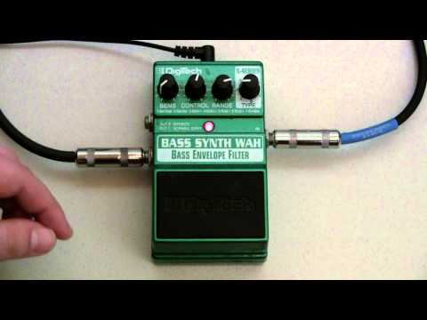 DigiTech Bass Synth Wah Demo