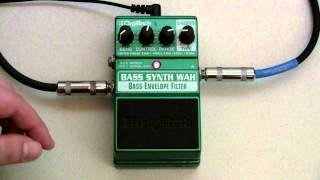 DigiTech Bass Synth Wah Demo