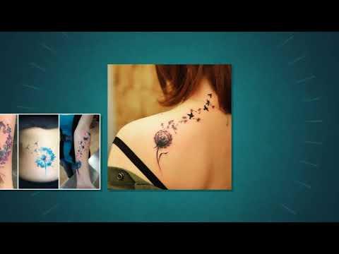 Tatuajes De Dientes De Leon Y Su Significado Para Mujeres Youtube