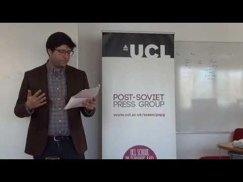 Shaun Walker at UCL SSEES Post-Soviet Press Group