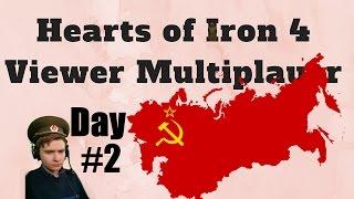 HoI4 - Multiplayer - Soviet Da9L - Day 2 of 3