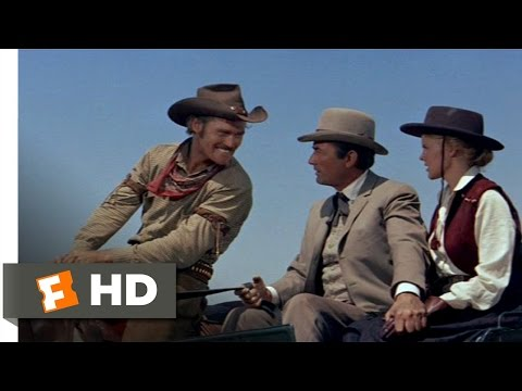 The Big Country (1/10) Movie CLIP - Harassing Jim and Pat (1958) HD