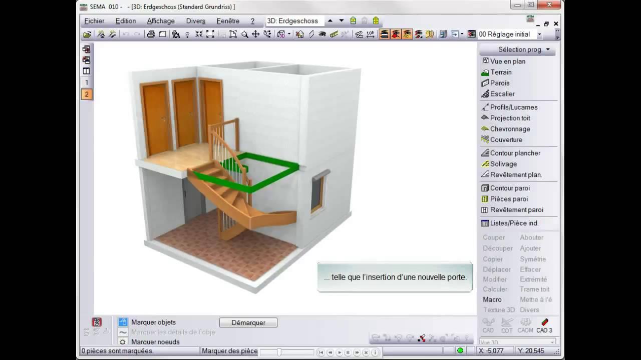Creation D Une Tremie Escalier recalcul de la trémie en 3d v12.1