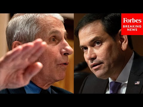 """""""Why Did You Dismiss The Lab-Leak Theory?"""": Rubio Grills Fauci On Past Statements Of COVID-19 Origin"""
