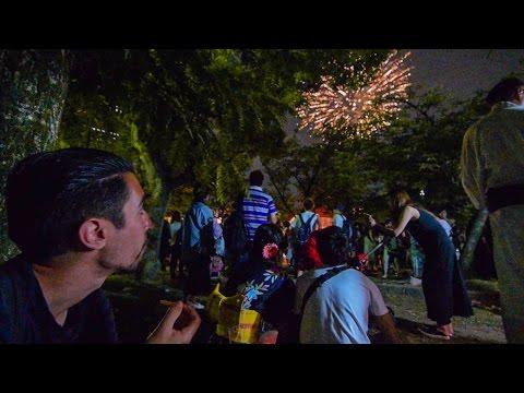 FIREWORK FESTIVAL in Osaka! (Tenjin Matsuri) Japan Vlog #15