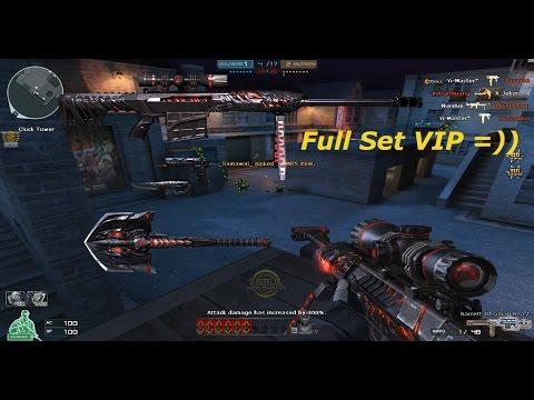 Crossfire NA 2.0: Barret M82A1 Obsidian Beast + Full set VIP - MERRY CHRISTMAS