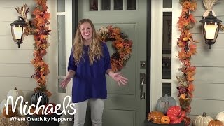 Fall Decor: Front Porch | Michaels