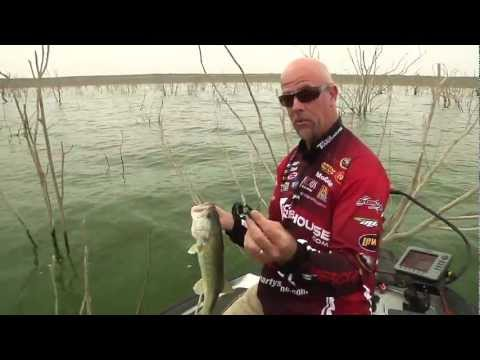 War Eagle Heavy Finesse Jig At Falcon Lake W/Marty Stone - Tackle Warehouse VLOG #190