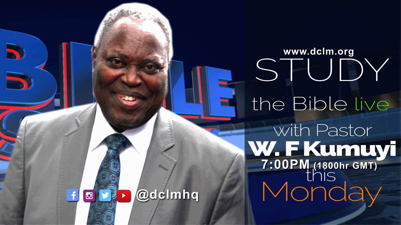 Monday Bible Study (Feb 13, 2017) - Deeper Christian Life Ministry [@dclmhq]