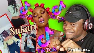 Zuchu Sukari Tiktok Dance Compilation  REACTION