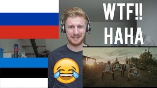 (WTF!! HAHA) LITTLE BIG - GIVE ME YOUR MONEY (feat. TOMMY CASH) // RUSSIAN MUSIC REACTION