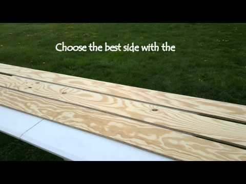 Prepare Plywood for Rustic Hardwood Plank Flooring