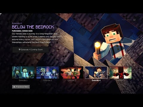 "Minecraft Story Mode -  Season 2 | Episode 4 ""Below The Bedrock"" Sneakpeak"