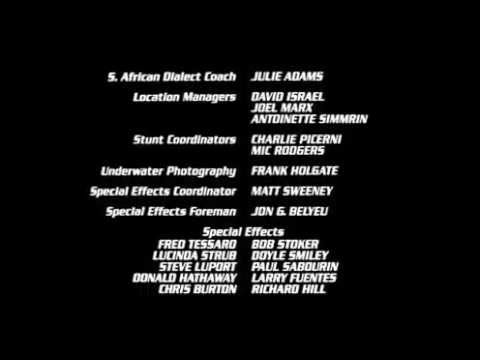 Lethal Weapon 2 End Credits