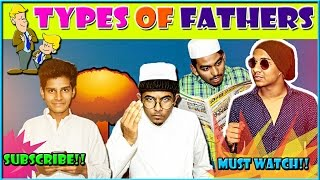 Types Of Fathers Every Where || Desi Humour || Warangal Diaries