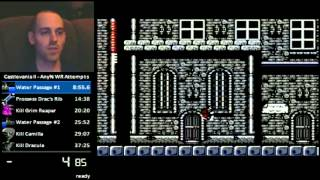 Castlevania II Secret Ending (Glitch)