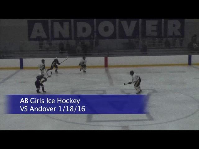 Acton Boxborough Girls Varsity Ice Hockey vs Billerica 1/18/16