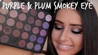 Purple Smokey Eye using the Jaclyn Hill Favorites Palette