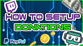 How to accept donations on twitch (Console amp; Mobile)