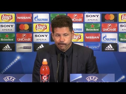 Atletico Madrid 1-0 Leicester - Diego Simeone Full Post Match Press Conference