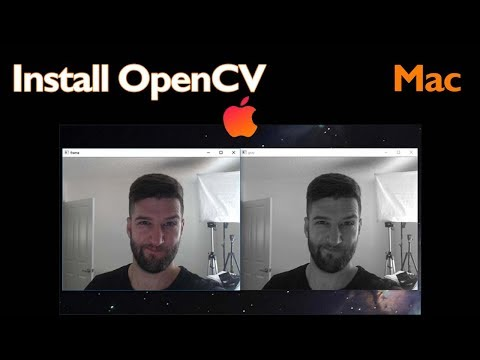 How to Install OpenCV on Mac OS with PYTHON