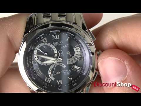Citizen Eco Drive Perpetual Calendar BL8000-54L - review by DiscountShop.com