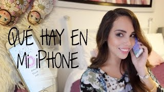 Qué hay en mi iPhone | What The Chic