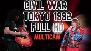 Guns n' Roses - Civil War - Live Tokyo 1992 MULTICAM
