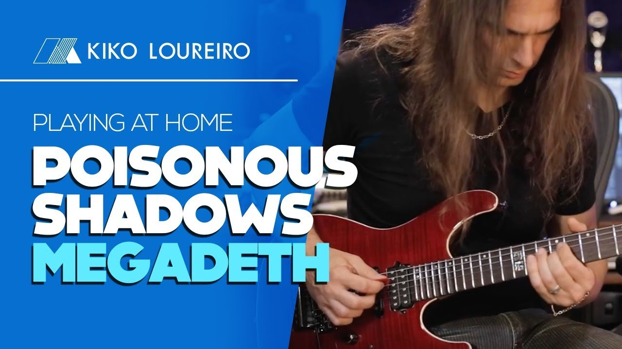 Playing at home Poisonous Shadows MEGADETH