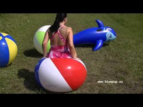 Видео как девушки пхнуть шарики — img 4