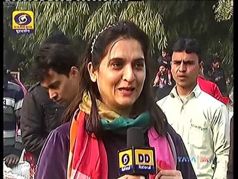 Doordarshan krishi vigyan, Ravi Khanna -Organic Farming & Desi Cow Milk Dairy at Sohna Near Gurgaon