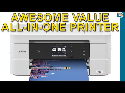 Brother MFC-J895DW All-in-One Multifunction Printer Review