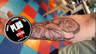 ROSES TATTOO IN ARM