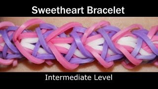 Rainbow Loom® Sweetheart Bracelet
