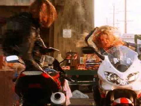 Jaime Pressly & Monet Mazur  Motorcycle Fight