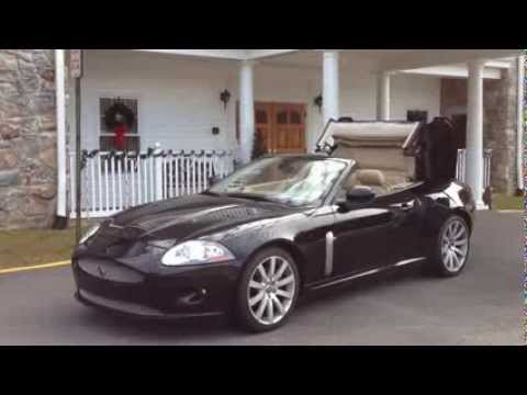 Jaguar XK Convertible ('06-'15) Remote Top Demo