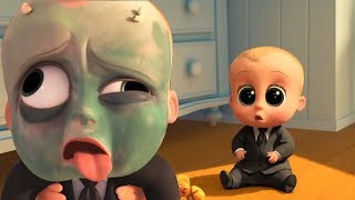 THE BOSS BABY Learning Color Funny Videos - Learn Colors For Kids Best Moments - Tim And The Boss