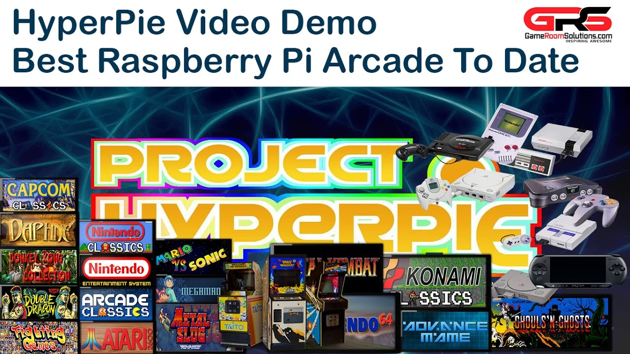 HyperPie Demo HyperSpin Arcade Experience on Your Raspberry Pi