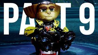 RATCHET AND CLANK RIFT APART Gameplay Walkthrough Part 9 - RATED Aaarrr !!!