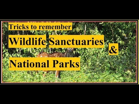 Trick to learn all Wildlife Sanctuaries and National Parks in India    Biosphere Reserves
