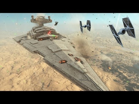 Star Wars Battlefront: Cinematic Movie Fighter Squadron - battle of jakku