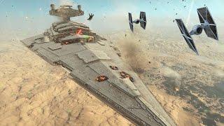 Star Wars Battlefront: Cinematic Movie Fighter Squadron - battle of jakku