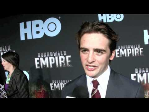 Vincent Piazza aka Lucky Luciano in HBO's 'Boardwalk Empire' at the NYC premiere 09/15/10