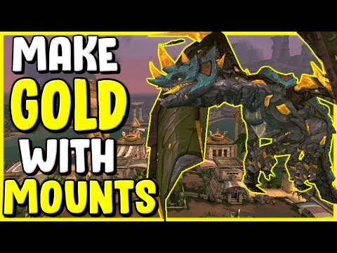How To Make Gold Crafting Mounts In WoW BFA 8.3 Gold Making, Gold Farming