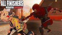 Apex Legends All Finishers UPDATED Revenant (Season 4: Assimilation)
