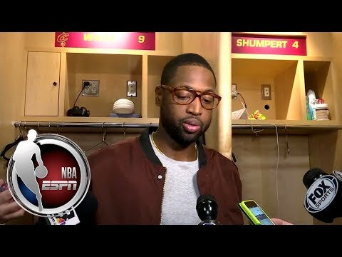 Dwyane Wade addressed his apology to Cavaliers fans at Quicken Loans Arena | NBA on ESPN