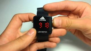 Обзор Adidas Led Watch