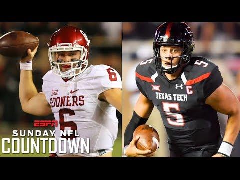 Mayfield vs. Mahomes: Coaches relive Oklahoma vs. Texas Tech 2016 | NFL Countdown