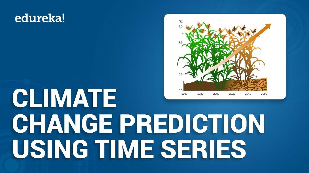 Climate Change Prediction Using Time Series Analysis | Python Projects | Python Training