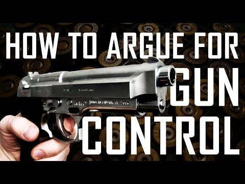 How To Argue For Gun Control